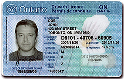 Ontario License Fake Ontario Fake Drivers Drivers